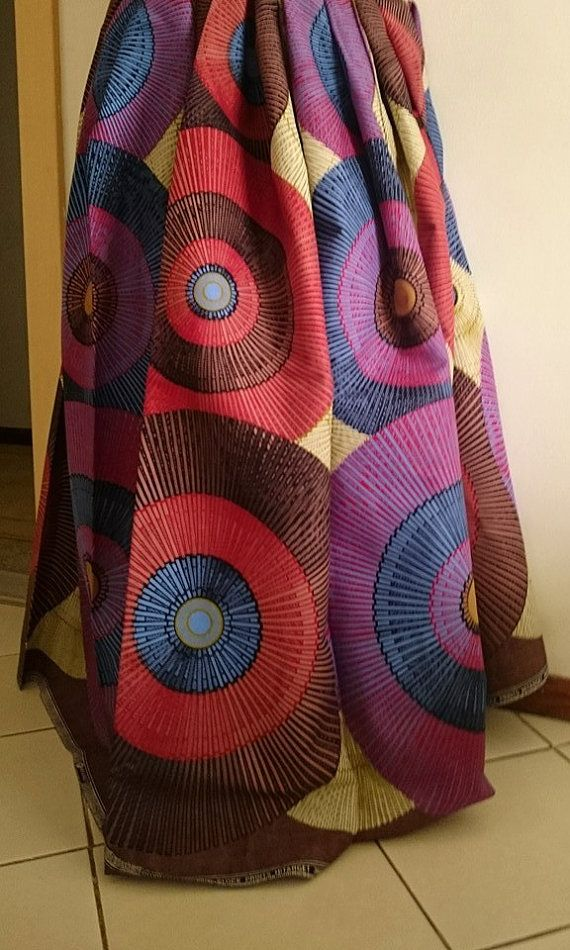 African wax Print  Fabric per yards for African Print dress
