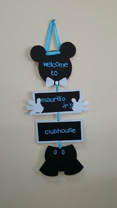 Mickey mouse baby'shower for boy...
