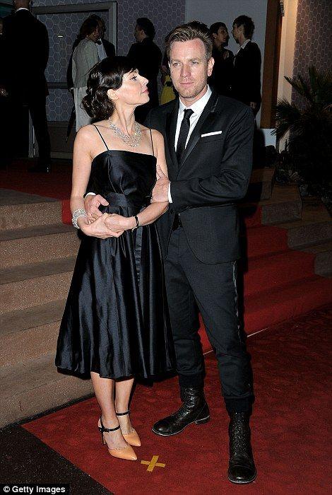 Ewan McGregor with wife Eve Mavrakis