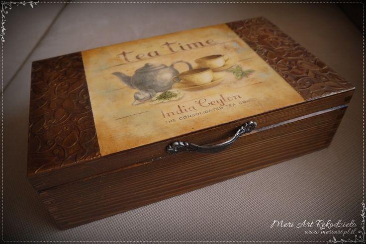 It's Tea Time! Handmade box for tea, pic. 1