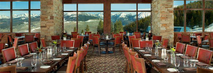 The 10th Restaurant at Vail Mountain | Vail.com. Restaurante muito bom com uma vista linda!!!!