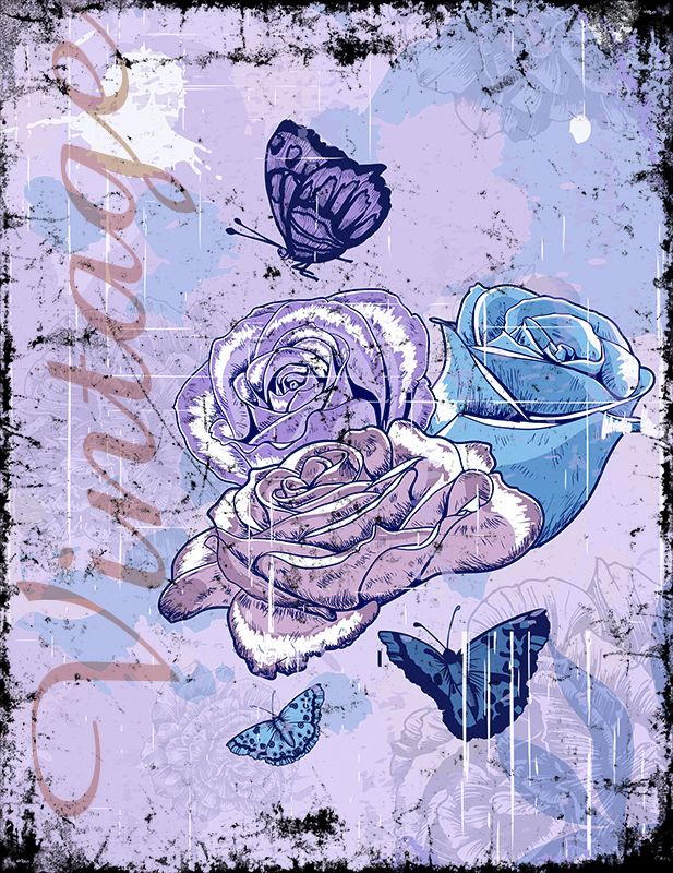 Vintage Roses (Version 04) 2014 Collection - © stampfactor.com