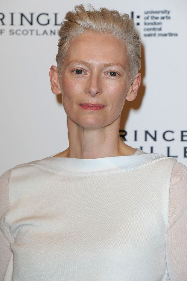 20 Reasons Why Tilda Swinton Is The Most Fashionable Person Of OurTime  She can wear toilet paper as a scarf and still look more stylish than anyone ever.    http://www.buzzfeed.com/amyodell/20-reasons-why-tilda-swinton-is-the-most-fashionable-person