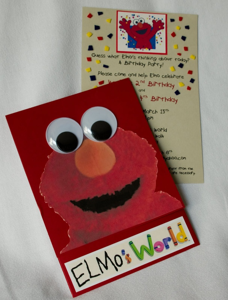 15 best elmo plaza sesamo comegalletas images on pinterest flea a couple of years ago i hosted an elmo themed birthday party for my kids even though there were unlimited supplies of packaged elmo party filmwisefo Choice Image