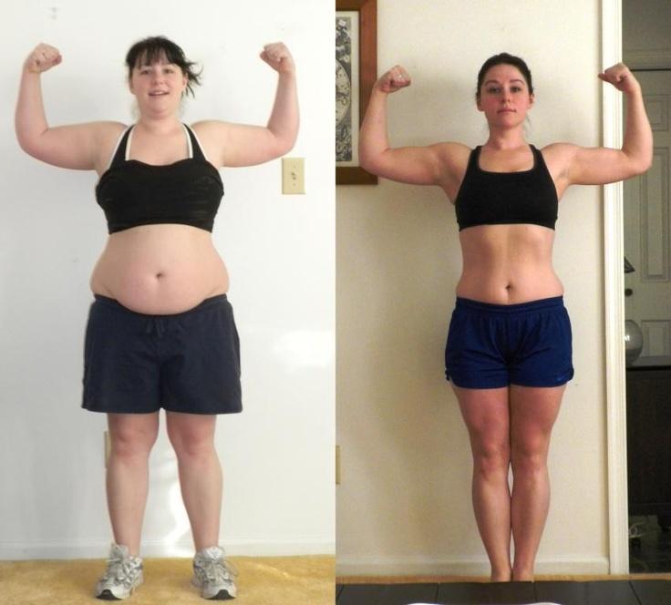 p90x2 results women - 736×664