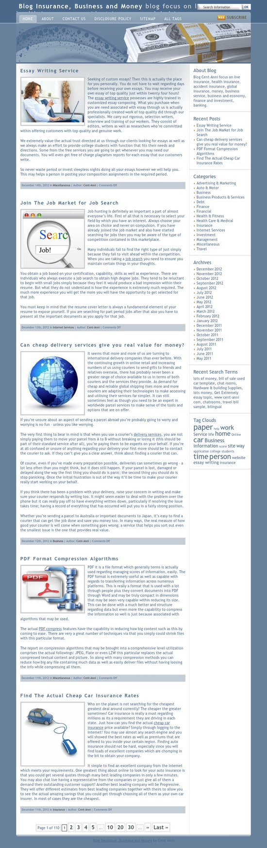 Business Cent Anni  http://www.cent-anni.com