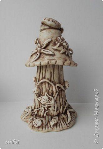 Поделка изделие Лепка соленушка грибок Тесто соленое фото 5