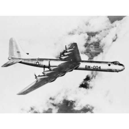 Worlds largest bomber plane Canvas Art - (24 x 36)