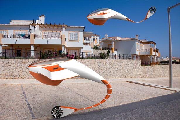 La voiture volante du futur