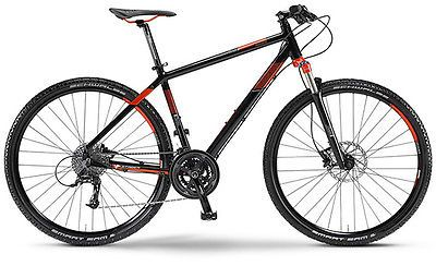 Staiger-Phoenix-Herren-Crossrad-28-20-Gang-Alu-Modell-2014-schwarz-orange