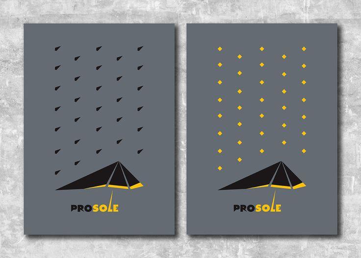 rain, umbrella, poster, minimal, vector, graphic design, grey, flat, logotype,
