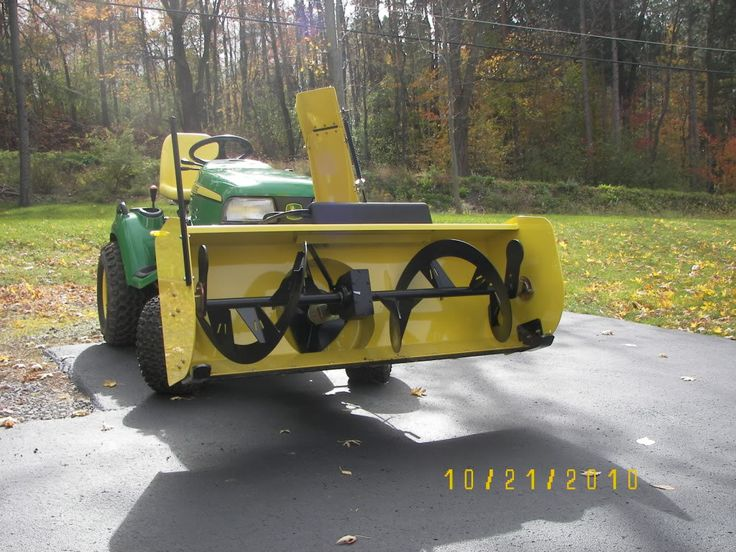 """My X748 came home with a 54"""" Snow Blower up front - MyTractorForum.com - The Friendliest Tractor Forum and Best Place for Tractor Information"""