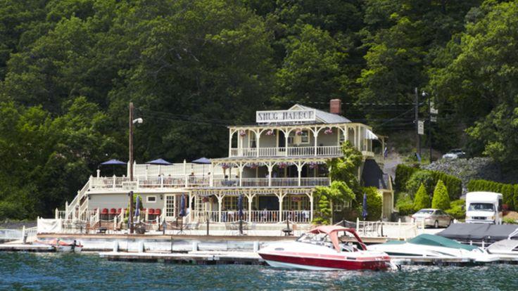 10 Coolest Small Towns in America 2012 -  PICTURED Hammondsport, NY - Snug Harbor Inn