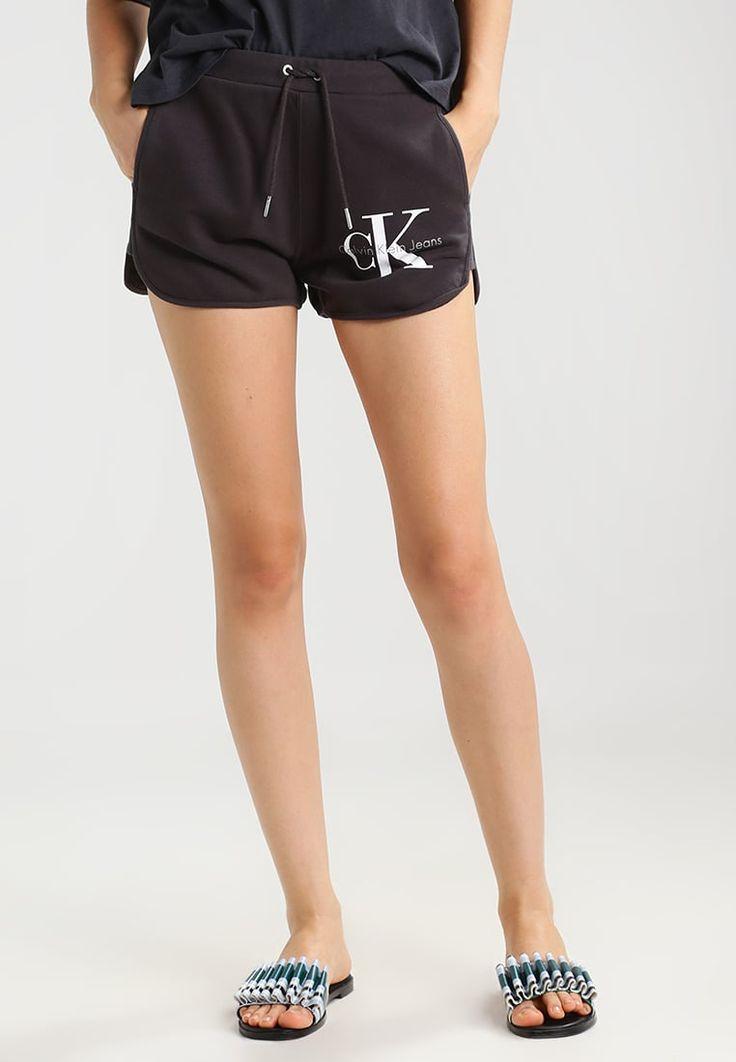 Calvin Klein Jeans TRUE TRACK SHORT - Træningsbukser - black - Zalando.dk