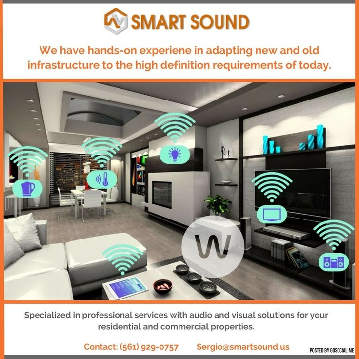 #smart #sound #audio #video #alarm #automation #florida #bocaraton #mizner #pompano #boca #deerfield #bose #samsung #authorized #colors #safe Smart Sound offers, fully-integrated home theater experience by connecting to and managing the technology devices in your business or home. smartsoundtemplat...