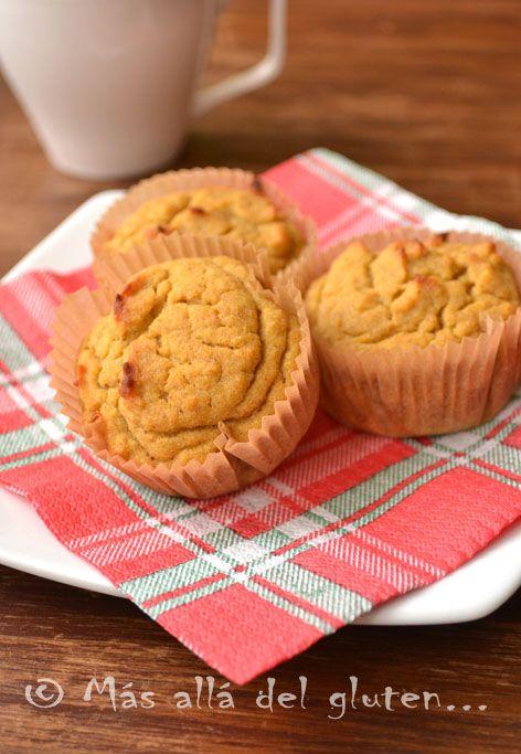 Más allá del gluten...: Muffins con Quinua y Zanahoria (Receta GFCFSF, Vegana)