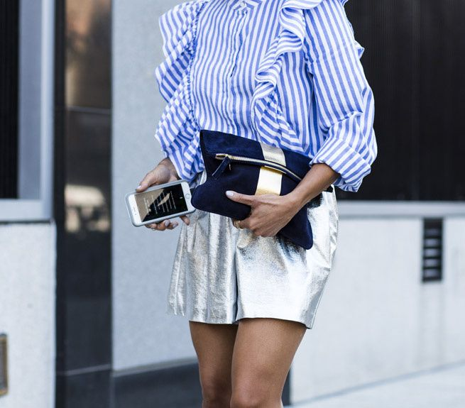 Blue Stripes: Season's New Uniform #stripes #bluestripes #uniform #trend