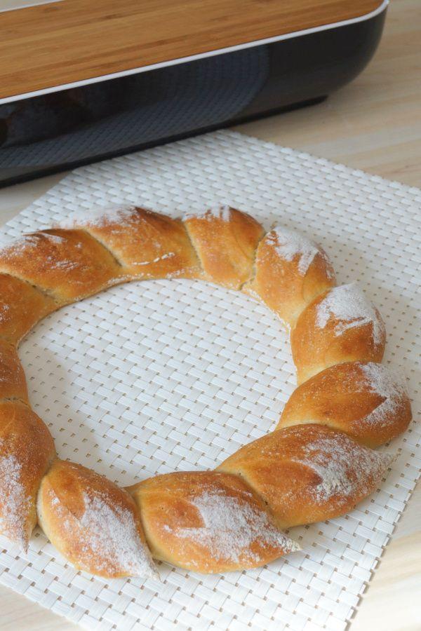 Le pain couronne épis