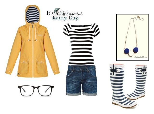 """Rainy day"" by hemos on Polyvore featuring Regatta, Helly Hansen, Dolce&Gabbana and Citizens of Humanity"
