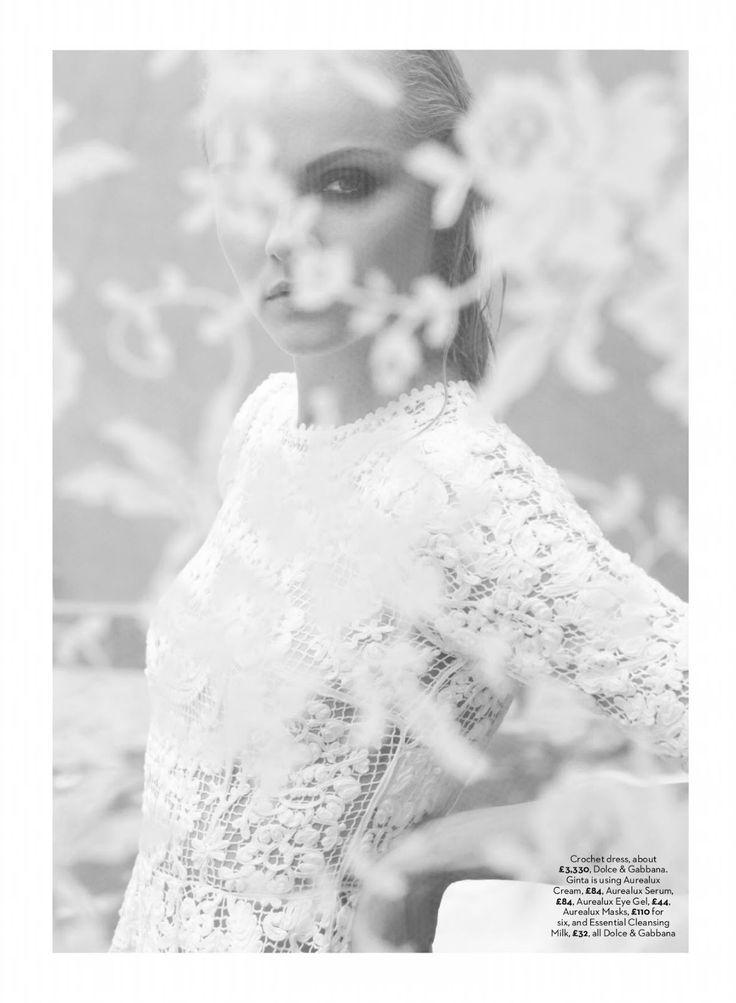 visual optimism; fashion editorials, shows, campaigns & more!: la dolce vita: ginta lapina, kate king and anais mali by simon upton for uk m...