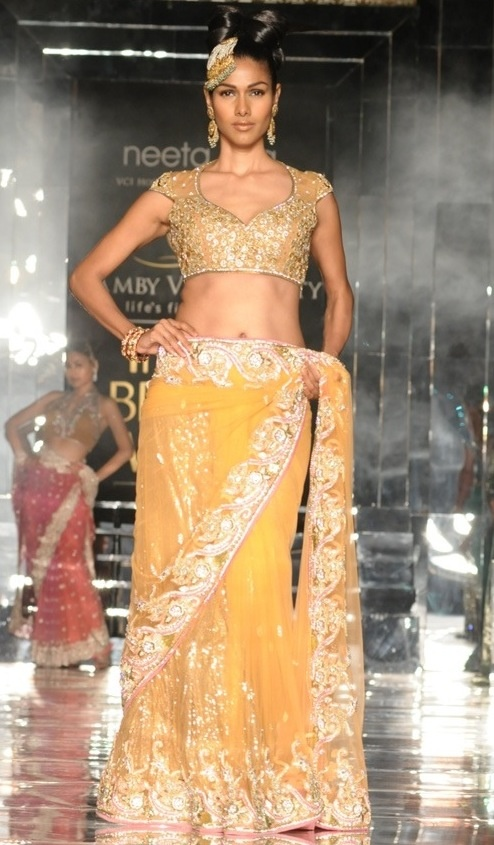 Neeta Lulla Collection at India Bridal Week full shirt of course