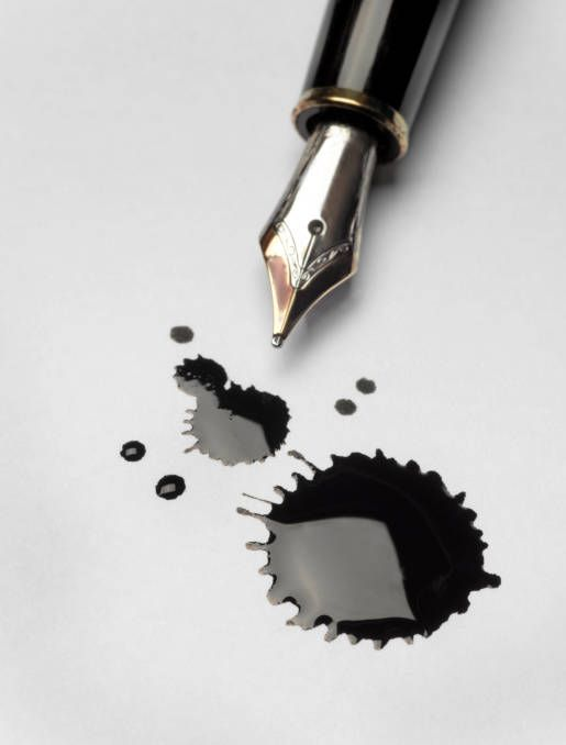 Use chemistry to make your own ink. (Jeffrey Coolidge, Getty Images)