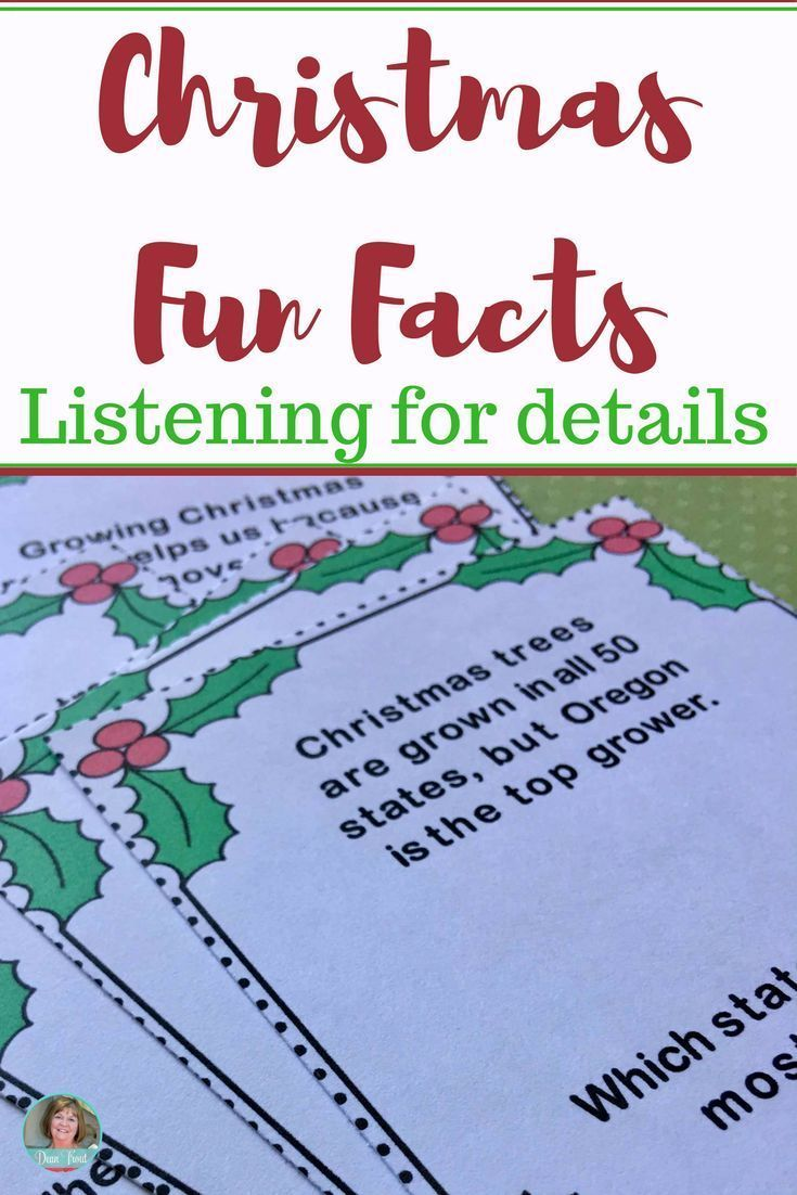 These Christmas Fun Facts are sure to engage your students and add fun to your small groups! Simple one sentence text that the kids must listen to and answer. All text is nonfiction! Use this as an activity for auditory processing or as a reading response. Great for speech therapy and ESL children!
