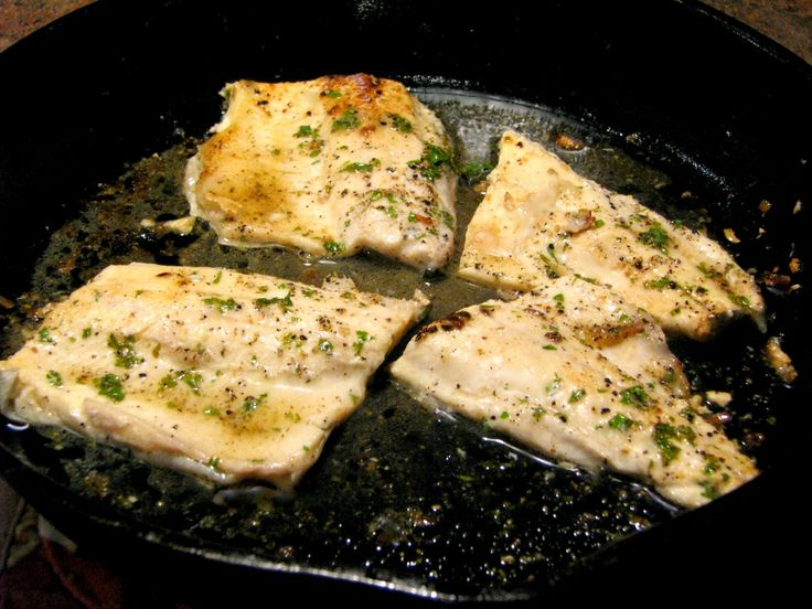 Quick, easy pan seared lemon pepper rainbow trout recipe, with fresh squeezed lemon juice, fresh ground pepper, and garlic makes an easy weeknight dinner.