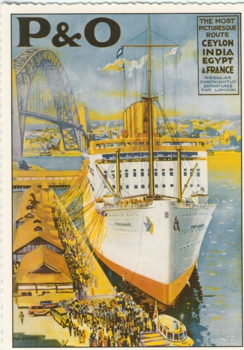 P & O is the oldest cruise line in the world, having operated the world's first passenger ships in the early 19th Century