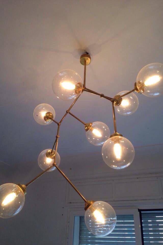 Mejores 14 imgenes de bubble lamp en pinterest burbujas madrid y 9 bubble ceiling lamp aloadofball Images