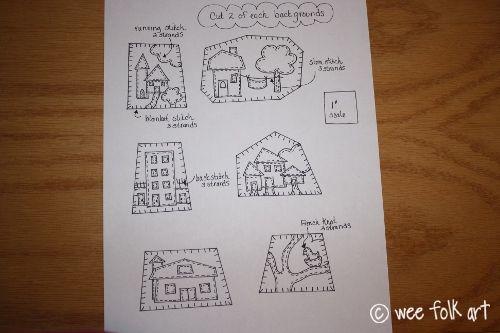 Little House Brooches | Wee Folk Art