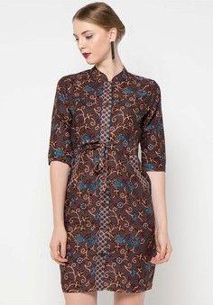 Gambar Model Dress Batik Modern