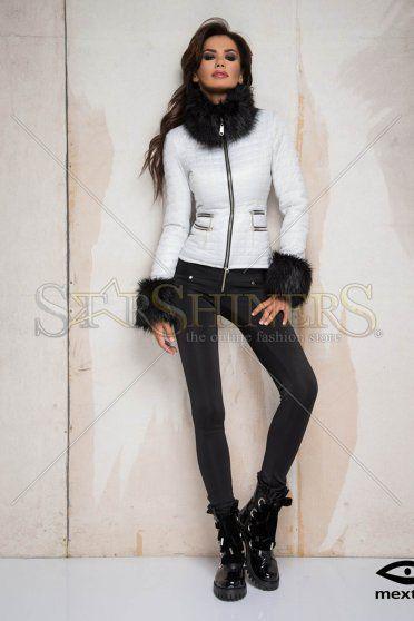 Mexton Fancy Boutique White Jacket