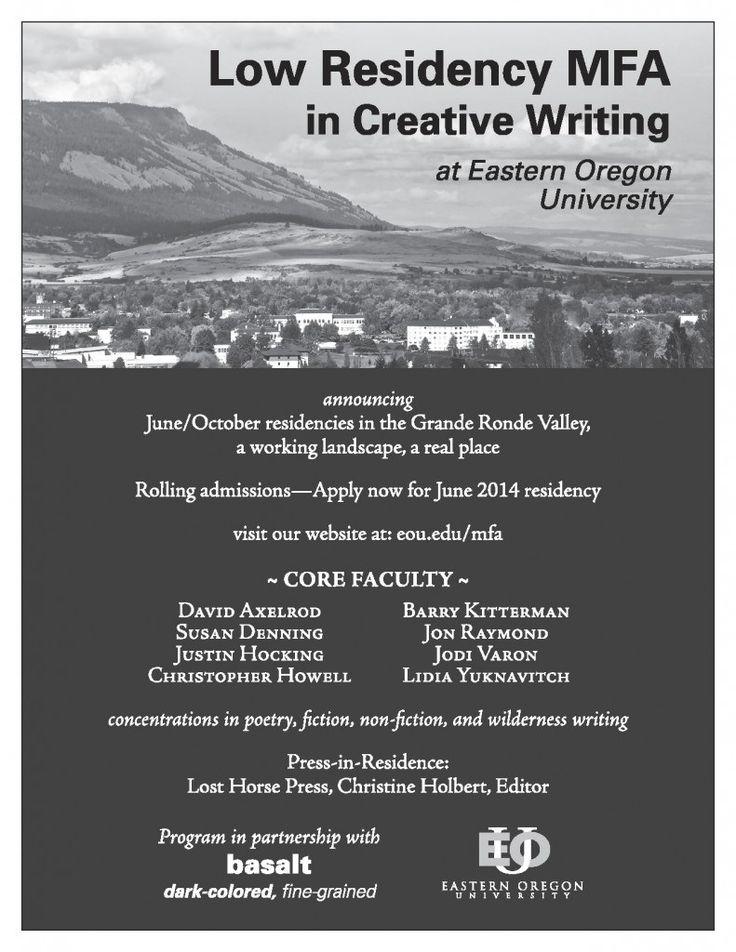 best creative writing mfa programs