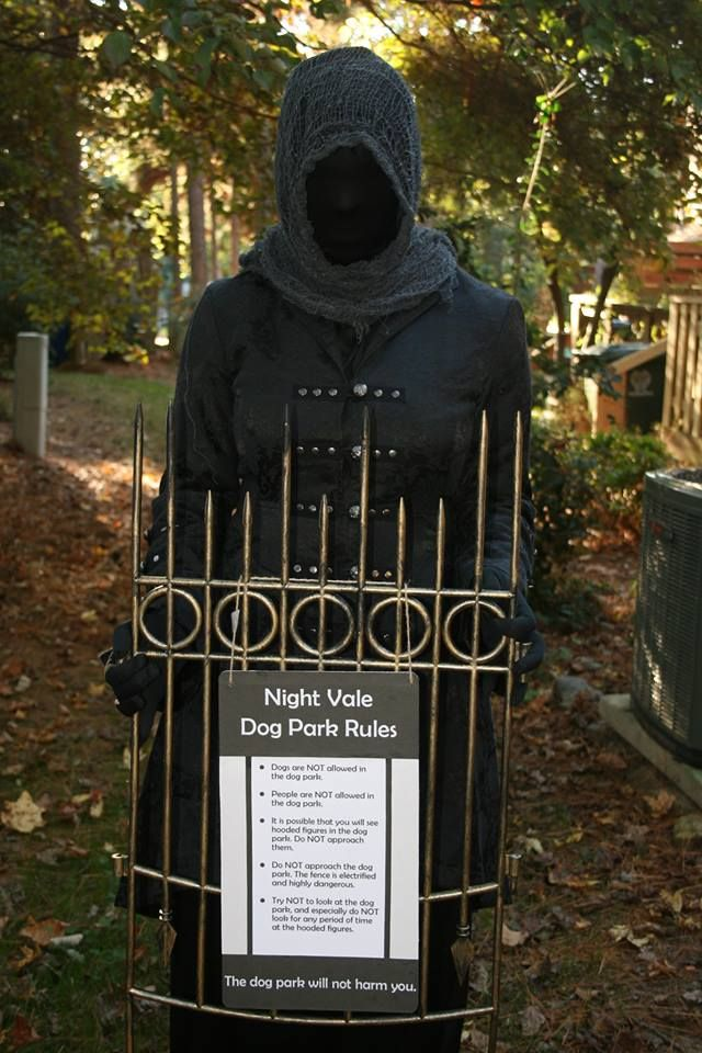 Welcome to Nightvale: The Hooded Figure by Steamstress.deviantart.com on @deviantART