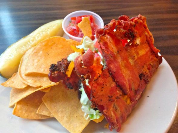 Philadelphia Restaurant Gives World the Bacon Taco Shell | Devour The Blog: Cooking Channel's Recipe and Food Blog
