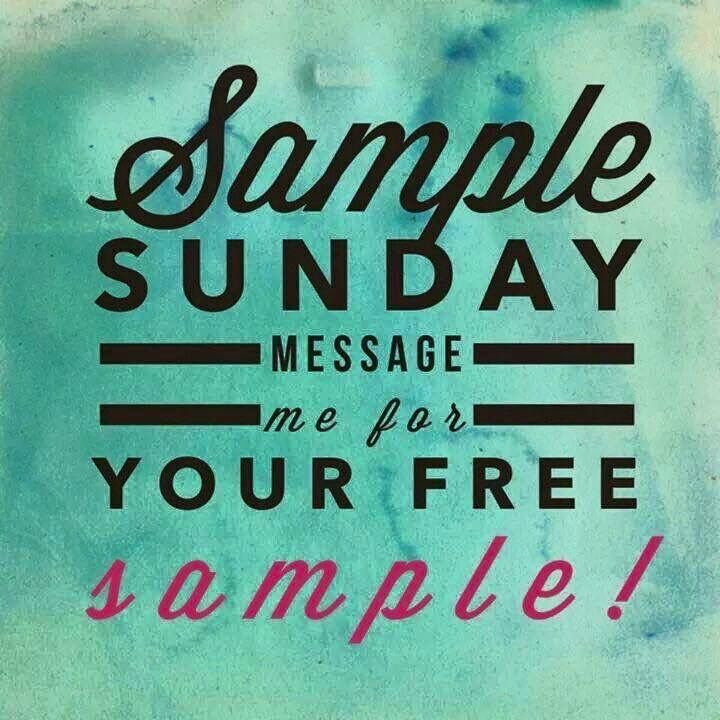 It's #Sample Sunday! I'm looking for a few new people to try Perfectly Posh…                                                                                                                                                                                 More