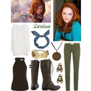 Sarah Drew as Zarina the Pirate Fairy
