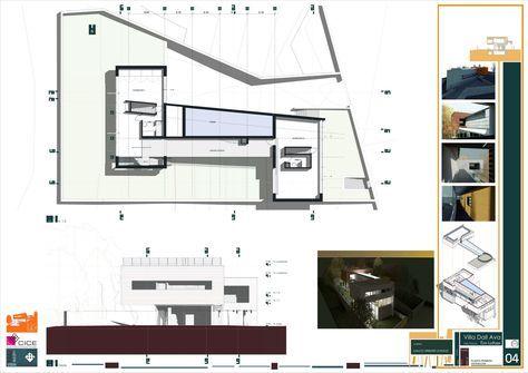 "REVIT (B.I.M.) MODELADO Villa Dall Ava. Rem Koolhaas. ""Si uno no cambia, no evoluciona y termina por dejar de pensar"" Rem ..."
