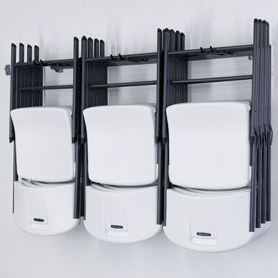 Monkey Bar Storage 12 Folding Chair Large Rack