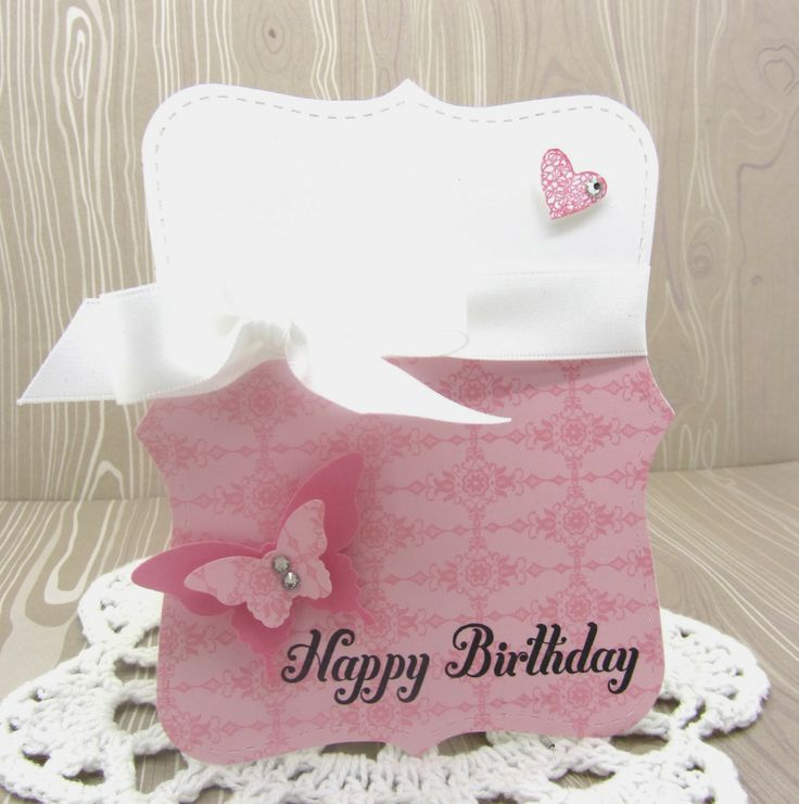 A Top Note Birthday Card using all Stampin' Up! products www.pinkblingcrafter.blogspot.com