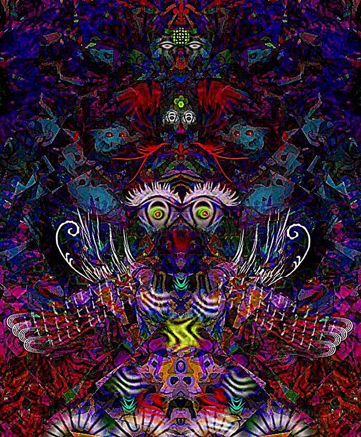 """""""El #guerrero de abstract planet"""" #personaje de #cienciaficcion realizado mediante #fotomanipulacion con #gimp. Ver más en: www.librecreacion.net www.sirenasinmar.blogspot.com www.facebook.com/SugarherArts"""