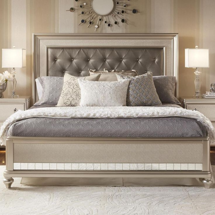 Shop For The Samuel Lawrence Diva Queen Panel Bed At Royal Furniture   Your  Memphis, Nashville, Jackson, Birmingham Furniture U0026 Mattress Store