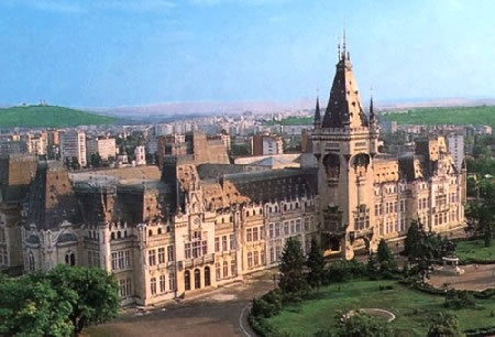 Iasi, Romania ~ Shown is the Palace of Culture, a neo-Gothic structure built on the site of a 15th century palace. It contains several museums, including The Art Museum, which has the largest art collection in Romania, with more than 8,000 paintings.