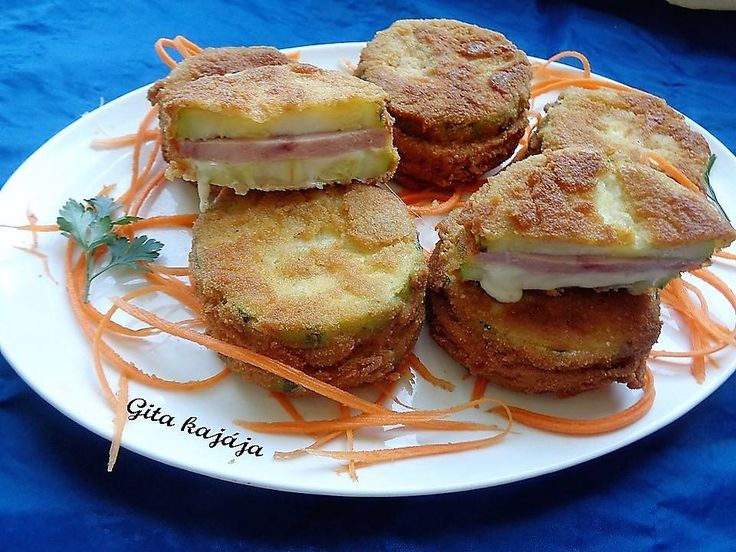 Ínyencek kedvence: sajttal, sonkával töltött rántott cukkini - Ketkes.com