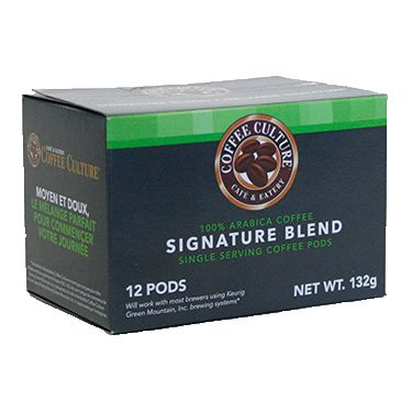 Club Coffee Signature Blend. Medium Roast. Single Serve Medium + smooth, the perfect blend to start your day.