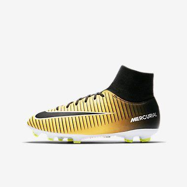 Calzado de fútbol para niños talla grande y pequeña Nike Jr. Mercurial Victory VI Dynamic Fit para terreno firme