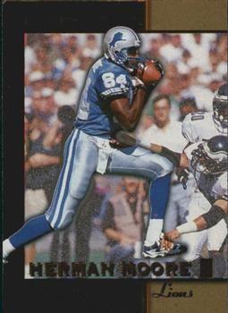 1996 Score Board NFL Lasers #14 Herman Moore - Detroit Lions.