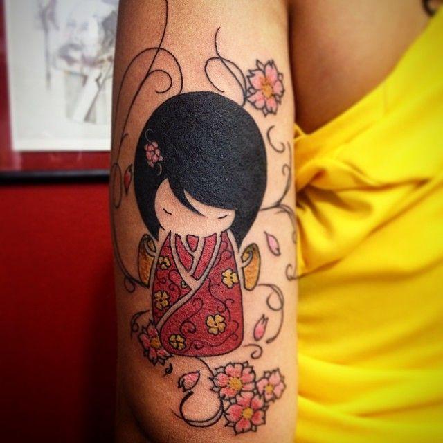 1002 Best Japanese Full Body Tattoo Images On Pinterest: 17 Best Ideas About Kokeshi Tattoo On Pinterest