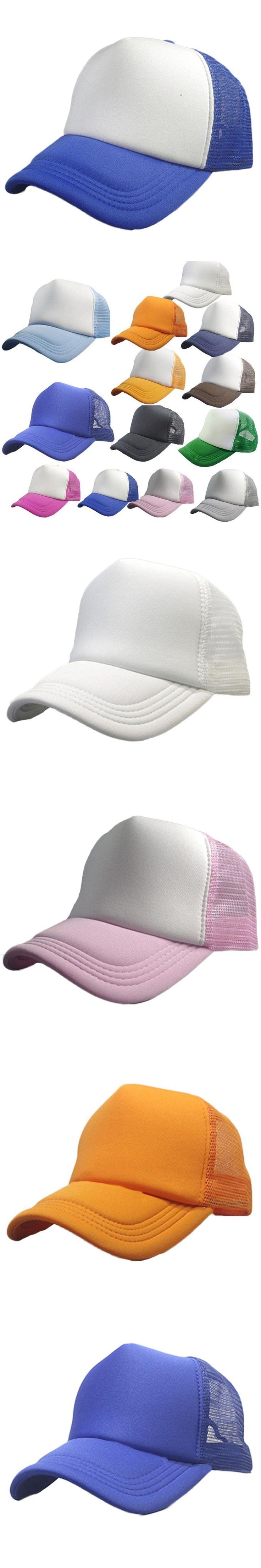2017 Best Sale Summer Solid Adult Mesh Cap Fashion Baseball Cap Women And Men Sun Hat2017 Best Sale womens baseball caps gorras
